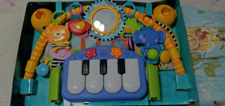 费雪(Fisher Price)新生儿益智玩具早教大动作发育 欢乐动物音乐健身器 CCB70 晒单图