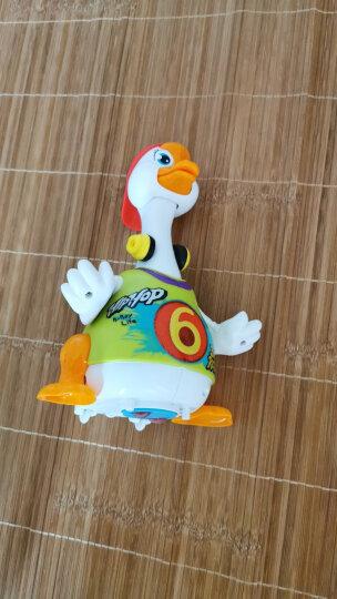 汇乐玩具 益智玩具 男孩女孩儿童节礼物 EQ摇摆大黄鸭 婴幼电动卡通音乐 万向动物玩具  808 晒单图