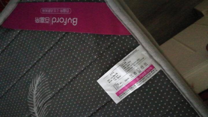 百富帝(byford)加厚防滑榻榻米床垫可折叠床褥子双人四季通用印花垫被 爱巢 1.5米床用 晒单图
