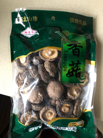 林彦达 香菇150克 东北特产 蘑菇干货 食用菌 晒单图