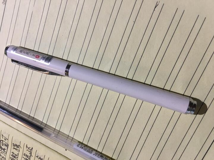 爱好(AIHAO)钢笔男女练字抽墨式签字清新学生钢笔X33 米白色 晒单图