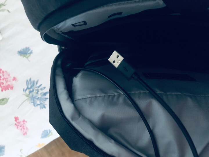 【多功能商旅包】诺龙 15.6寸电脑包双肩包男士背包14寸苹果笔记本包新品旅行包商务包学生书包 送运费险,售后无忧 晒单图