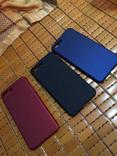蒙奇奇 iPhone7/8手机壳苹果8plus/7p手机套超薄防摔磨砂全包保护壳 5.5英寸玛雅红 全包保护 晒单图