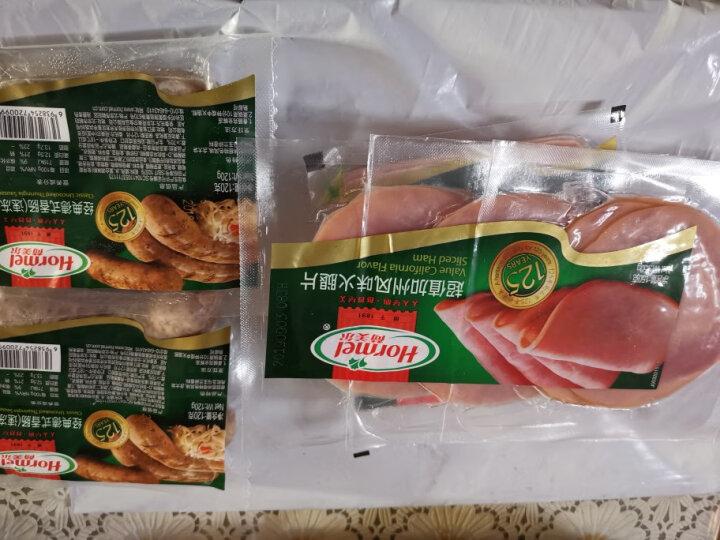 荷美尔(Hormel)经典生煎西班牙香肠120g/袋 冷冻生制 火腿肠 热狗纯肉肠 烧烤肠 早餐食材(2件起售) 晒单图