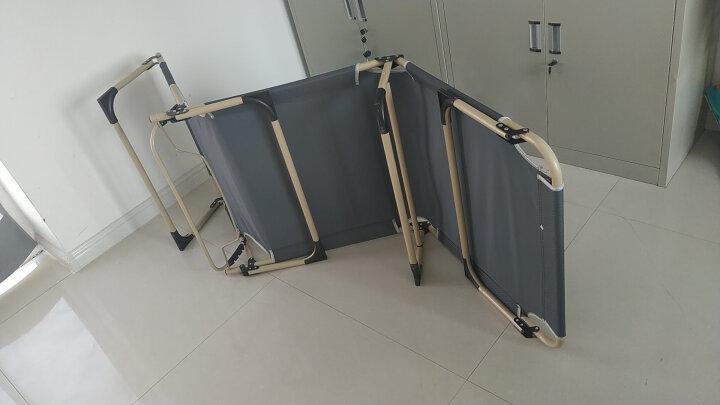 凯速 折叠床单人床午休折叠椅户外躺椅便携简易折叠床 加长加宽午休椅  办公室午睡床  户外行军床   FC368 晒单图
