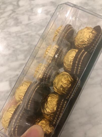 进口费列罗30粒巧克力礼盒 榛果威化牛奶巧克力48粒 婚庆婚礼喜糖果礼盒情人节送女朋友万圣节糖果 T30粒礼盒装 晒单图