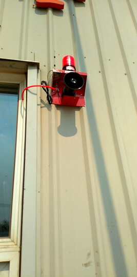 DLTXCN DL-190S无线遥控 声光警报器 警报器 酒楼超市火灾报警器 晒单图