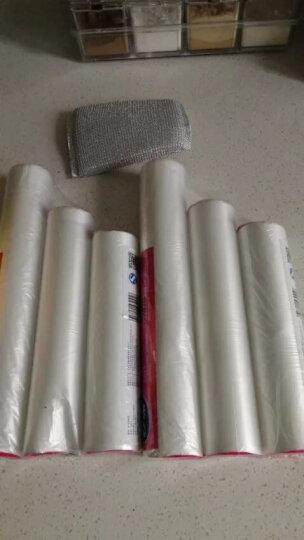 妙洁 点断式保鲜袋大中2卷组合装 厚实不易漏 200只装 晒单图