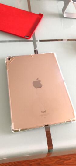 VALK 2018新iPad保护套9.7英寸 ipad2017/air2/1保护壳 苹果平板电脑皮套智能休眠超薄硅胶软壳支架 香槟色 晒单图