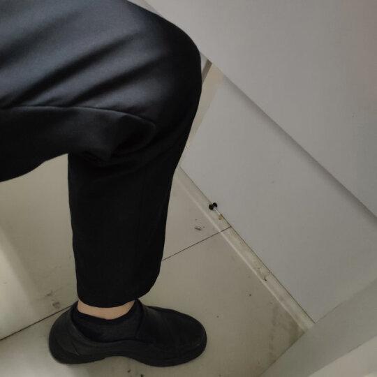 传棨 西裤男修身免烫西服裤商务休闲面试上班西装裤男士职业正装裤子 夏季薄款深蓝色 36(2.75尺) 晒单图