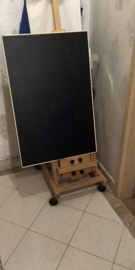 得力(deli) 磁性软黑板 办公家用软铁黑板纸 挂式黑板墙贴 可擦写黑板自带背胶 600*900mm软黑板-50001 晒单图
