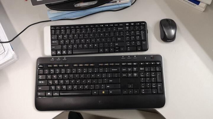 罗技(Logitech)K230 键盘 无线键盘 办公键盘 优联 笔记本键盘 黑色 自营 带无线2.4G接收器 晒单图