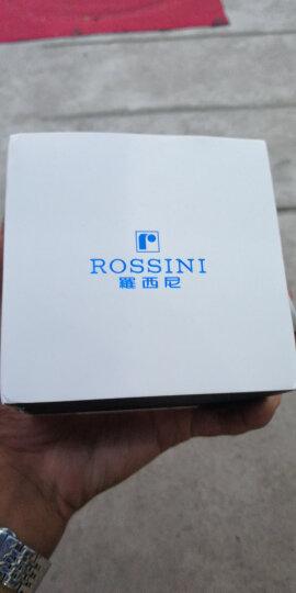 罗西尼(ROSSINI)手表 CHIC系列 情侣女表 简约百搭时尚石英表 皮带女士腕表516734G01B 晒单图