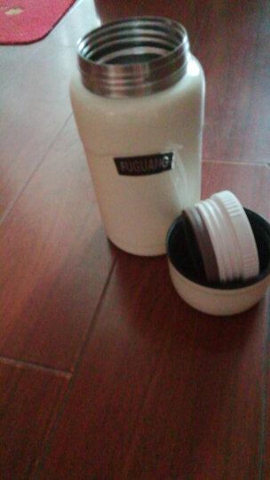 富光 304真空不锈钢焖烧罐男女便携保温杯焖烧杯保温饭盒赠送餐勺黑色 750ML(FGL-3636) 晒单图