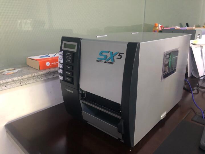 东芝(TOSHIBA) B-SX5T系列 工业型二维码不干胶标签 条码打印机 超宽幅打印 B-SX5T (300dpi标配+RFID模块) 晒单图