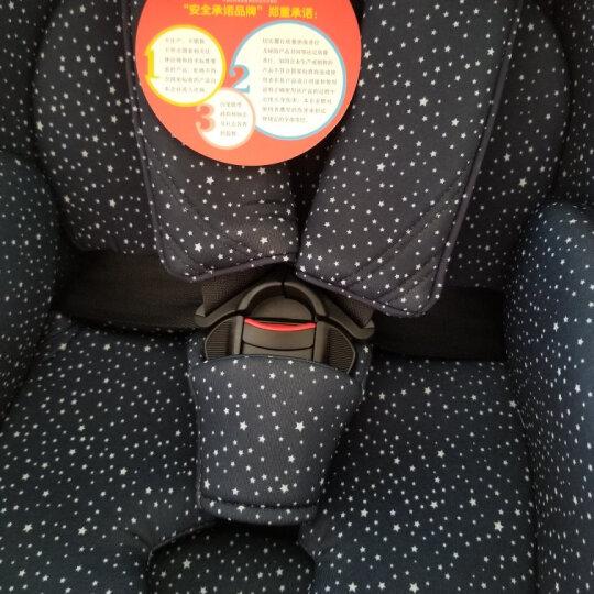 好孩子(gb) 儿童婴儿安全座椅0-4-7-12岁 双向安装 汽车用isofix接口/安全带安全座椅 高速气囊版-星空蓝CS729-京东仓发货 晒单图