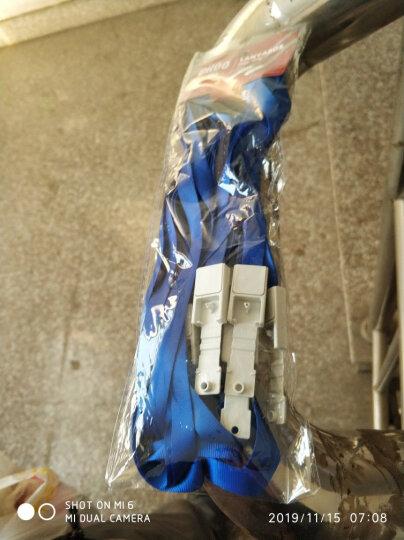 优和(UHOO)可定制证件卡套挂绳商务工作卡绳 胸卡吊绳工作证件员工牌 深蓝12根/包 6712 晒单图