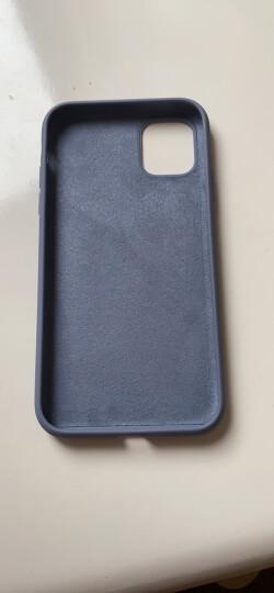 【次日达】观悦  苹果11手机壳液态硅胶iphone11保护套防摔超薄 6/6S(小屏) 4.7英寸-紫罗兰 晒单图