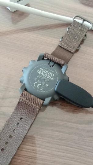 颂拓(SUUNTO)手表 TRAVERSE远征系列GPS多功能户外运动松拓男表远征阿尔法军绿色军表SS022292000 晒单图