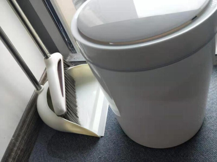 艺姿智能感应垃圾桶家用带盖大号纸篓垃圾筒干湿垃圾分类垃圾篓触触桶12L  YZ-GB203 晒单图