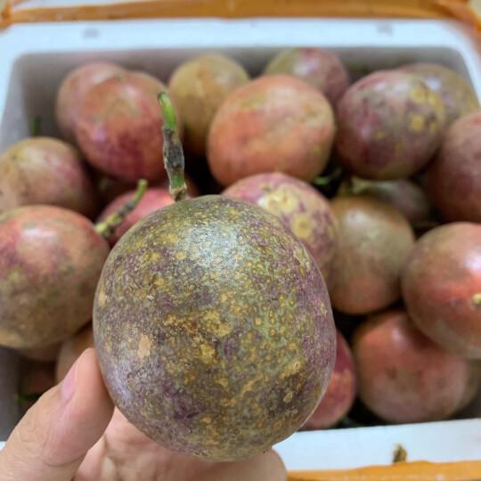 第二件9.9 玖原农珍 广西百香果3斤现摘大果 生鲜水果 晒单图