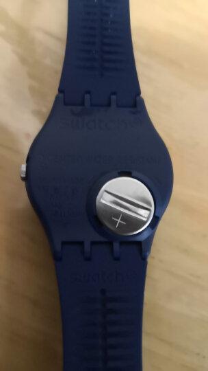 斯沃琪(Swatch)瑞士手表 原创系列绅士蓝 时尚运动石英 学生情侣男女士表GN718 晒单图