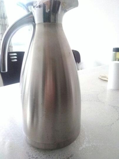 美厨(maxcook)保温壶 304不锈钢真空热水壶保温瓶暖壶开水瓶 大容量防滑咖啡壶2.0L金色MCH-055 晒单图