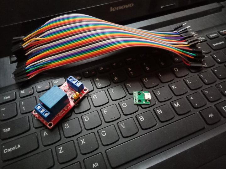 TaoTimeClub 1路继电器模块 支持高低电平触发 5V 一路 晒单图