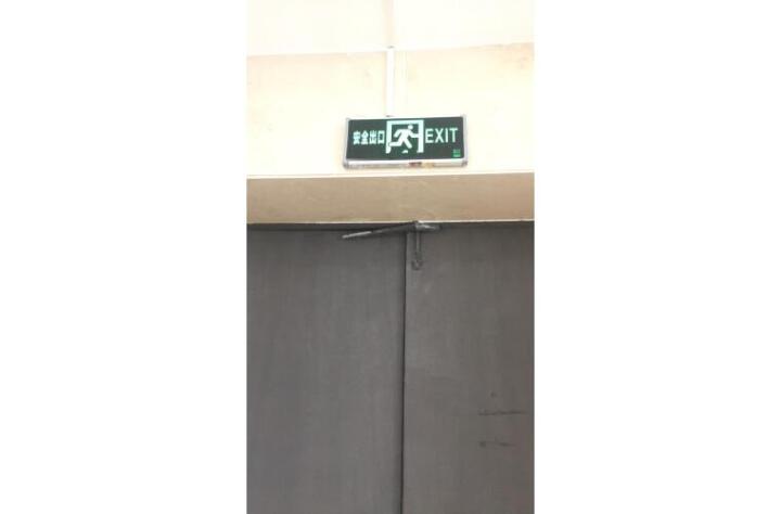 谋福 安全出口消防应急灯指示灯LED新国标消防应急两用灯 疏散指示牌紧急通道标志灯 消防指示灯挂链10米 晒单图