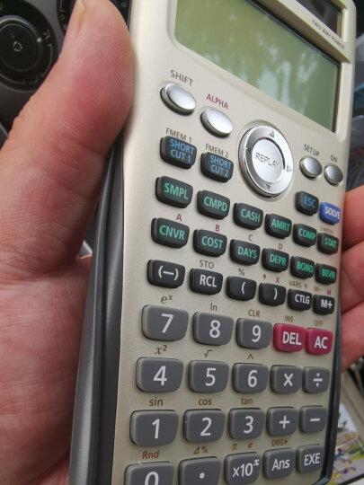 卡西欧(CASIO)FC-200V财务金融计算器AFP/CFA一级二级理财规划师考试计算机 晒单图