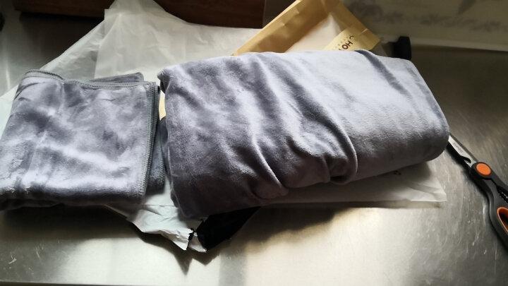 日本品牌HOYO毛巾浴巾套装冬季款纯棉浴袍男女可穿吸水毛巾大号加厚速干情侣儿童婴儿可用带挂钩 毛浴套装(粉色) 晒单图