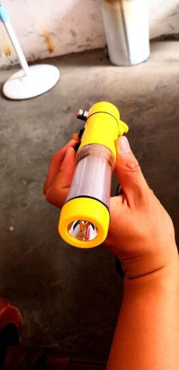 趣行 汽车用四合一安全锤破窗器 汽车逃生锤应急多功能手电筒车载消防锤应急救生锤 安全锤 晒单图