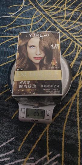 欧莱雅(LOREAL)卓韵霜时尚魅棕染发霜5.64(魅动红棕)(红色系) 晒单图