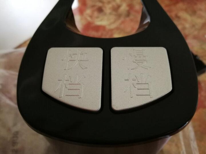 三的(SANDE) 绞肉机家用电动多功能绞馅机料理机搅拌机碎肉机打肉机绞菜机家用2.2L大容量 2305粉色(玻璃碗双刀) 晒单图