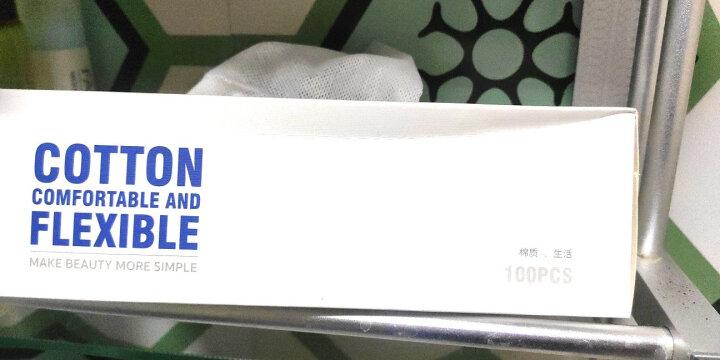 BLD贝览得一次性洗脸巾无纺布洁面巾化妆棉棉质柔巾纸巾 40片 晒单图