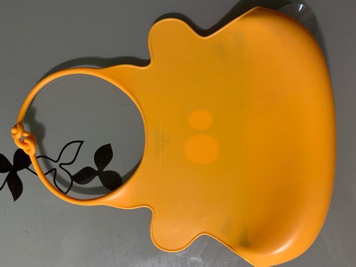 贝儿欣(BABISIL)婴儿全硅胶防水围兜儿童吃饭围嘴宝宝立体口水兜小孩口水巾BS4578 晒单图