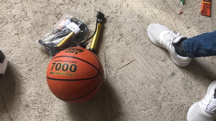 红双喜篮球5号儿童小学生训练球7号成人室内外水泥地耐磨橡胶蓝球 B7000(7号成人篮球) 晒单图