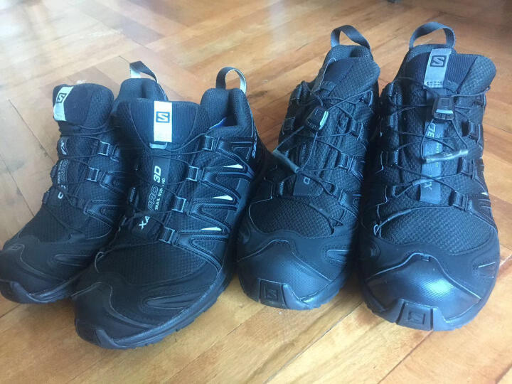 萨洛蒙(Salomon) 女款户外防水透气越野跑鞋 XA PRO 3D GTX W 雾霭蓝379197 UK4.5(37 1/3) 晒单图