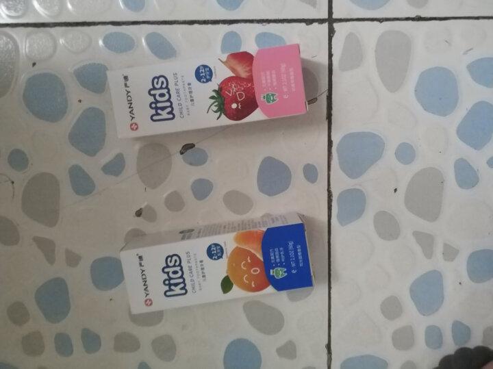 严迪(YANDY)2-12岁护牙宝 无氟可吞咽儿童牙膏 60g(草莓味 安全放心) 晒单图