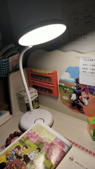 好视力led台灯学生学习阅读儿童读写大学生 宿舍寝室卧室书桌床头灯 触摸7档调光TG168-A 晒单图