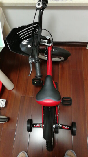 hd小龙哈彼 儿童自行车男女款小孩12/14/16寸山地单车 脚踏车 16寸红色LB1603-S-M210 晒单图