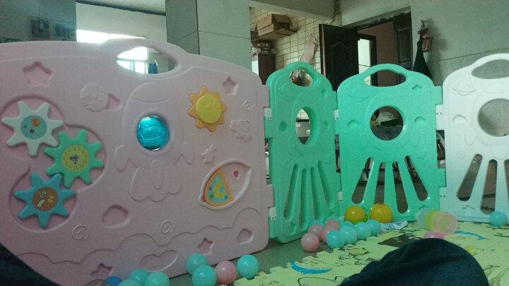 澳贝(AUBY)婴儿童游戏围栏爬行学步安全护栏室内户外游乐场宇宙星空围栏14+2新年礼物男孩女孩玩具464320DS 晒单图