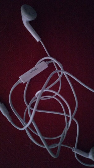 【原装】vivo耳机正品手机耳塞X21X20X7X9X6 plus vivoy67y66z1y71 灰白色 带话筒重低音 晒单图