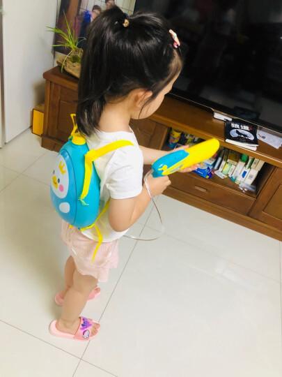 爸爸妈妈(babamama)儿童背包水枪玩具 夏天户外沙滩戏水 双肩背水壶高压喷射水枪 B2003企鹅 晒单图