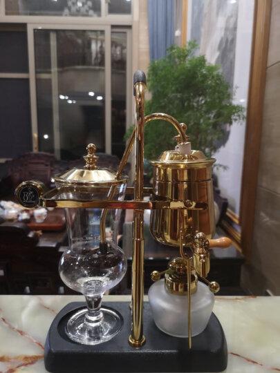 帝国(Diguo) 比利时咖啡壶酒精灯虹吸壶虹吸式咖啡机摩天轮磨豆机煮咖啡机商用礼盒套装 金色+磨豆机 晒单图
