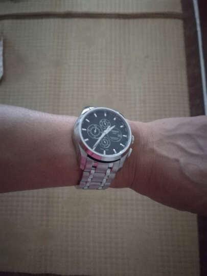 积优 适用于天梭表带 天梭库图钢带 天梭手表表带 T035钢带男 1853表链专用款23mm 银色 24mm 晒单图