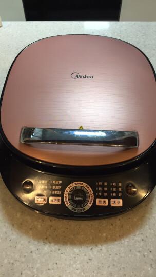 美的(Midea)电饼铛家用煎烤机早餐机25MM加深烤盘烙饼机WJCN30H 晒单图
