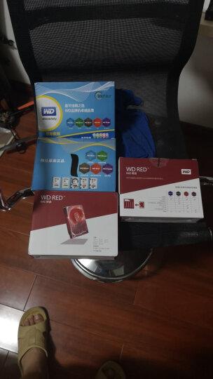 西部数据(WD)红盘 2TB SATA6Gb/s 64M 网络储存(NAS)硬盘(WD20EFRX) 晒单图
