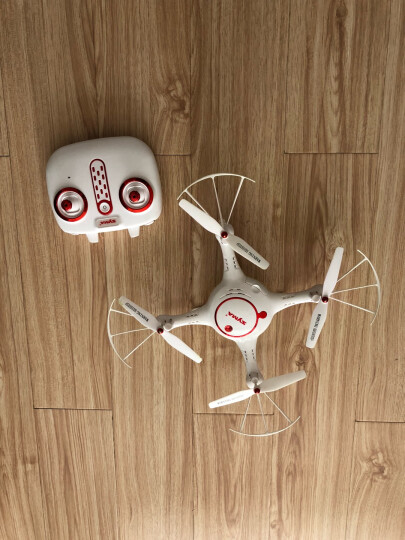 SYMA司马遥控飞机大型耐摔四轴飞行器无人机航拍高清战斗航模直升儿童玩具 无航拍X5U双电版(定高) 晒单图