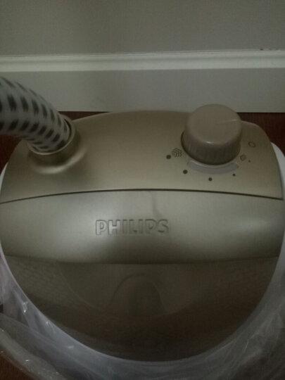 飞利浦 (PHILIPS) 蒸汽挂烫机  家用手持/挂式电熨斗双杆五档 1500W熨衣 GC509/18 晒单图